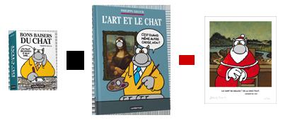 Pack Bons baisers du Chat & L'Art et Le Chat + Ex-Libris offert